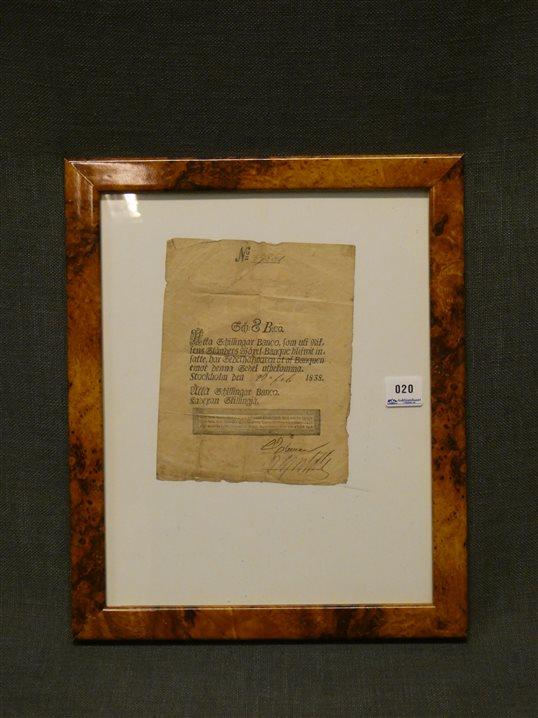 Auktion: 438 Objekt: 020